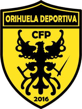 Escudo de C.F.P. ORIHUELA DEPORTIVA (VALENCIA)