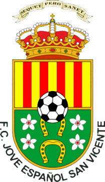 Escudo de F.C. JOVE ESPAÑOL SAN VICENTE (VALENCIA)