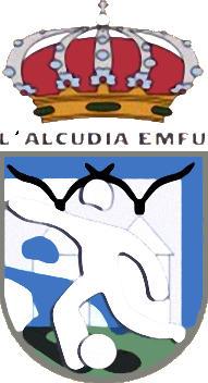 Escudo de L'ALCUDIA E.M.F. (VALENCIA)