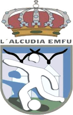 Escudo de LA ALCUDIA E.M.F. (VALENCIA)