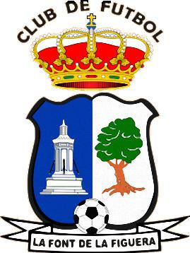 Escudo de LA FONT DE LA FIGUERA C.F. (VALENCIA)