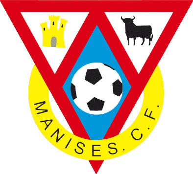 Escudo de MANISES C.F. HASTA 2018 (VALENCIA)