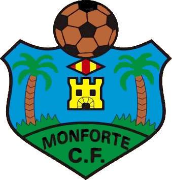 Escudo de MONFORTE C.F. (VALENCIA)