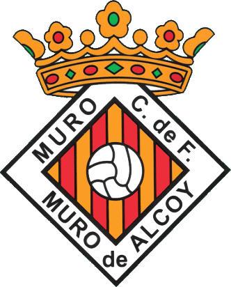 Escudo de MURO DE ALCOY C.F. (VALENCIA)
