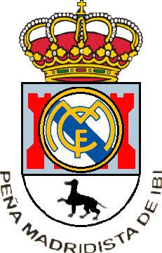 Escudo de PEÑA MADRIDISTA DE IBI U.D. (VALENCIA)