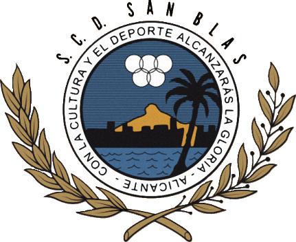 Escudo de S.C.D. SAN BLAS (VALENCIA)