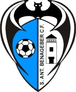 Escudo de SAN ANTONIO BENAGÉBER C.F. (VALENCIA)