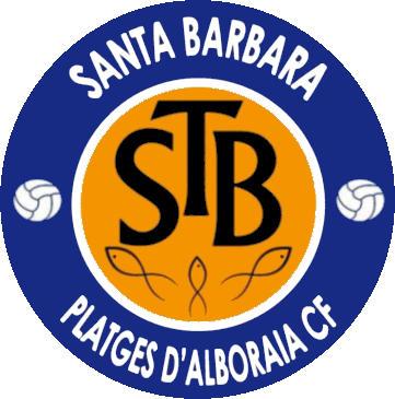 Escudo de SANTA BARBARA PLATGES D'ALBORAIA C.F. (VALENCIA)