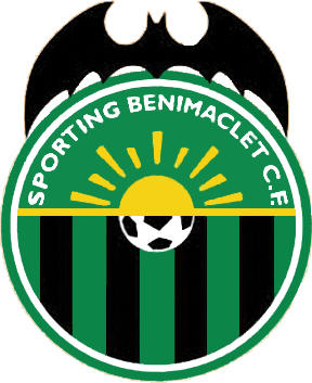 Escudo de SPORTING BENIMACLET C.F. (VALENCIA)