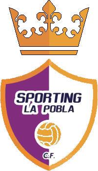 Escudo de SPORTING LA POBLA C.F. (VALENCIA)