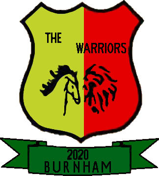 Escudo de THE WARRIORS BURNHAM (VALENCIA)