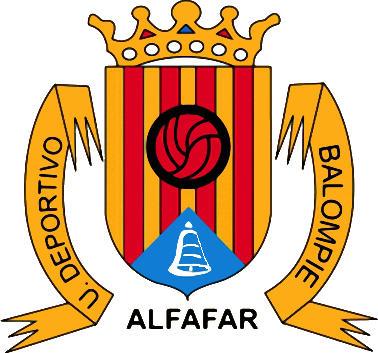 Escudo de U.D. BALOMPIÉ ALFAFAR (VALENCIA)