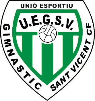 Escudo de U.E. GIMNASTIC SANT VICENT C.F. (VALENCIA)
