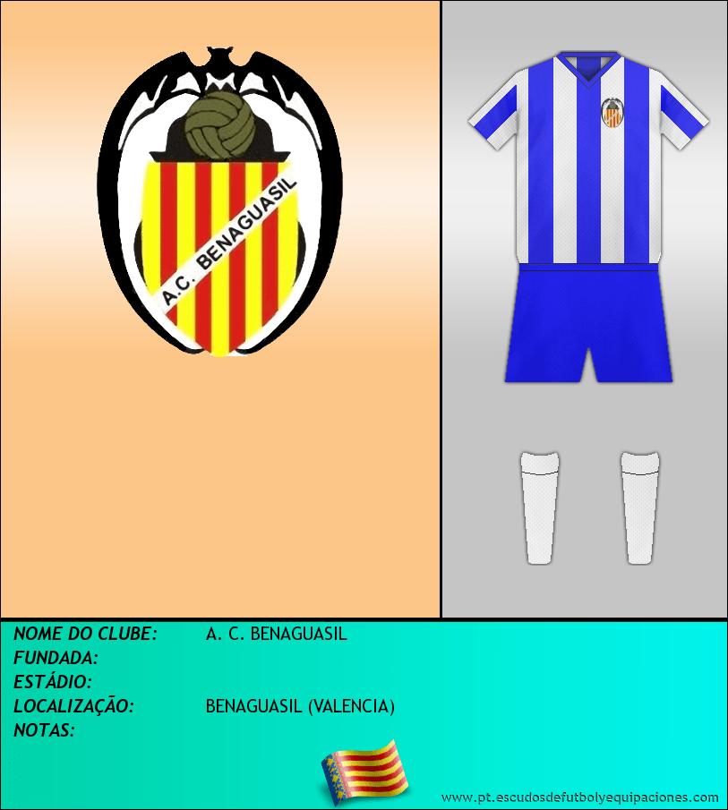Escudo de A. C. BENAGUASIL