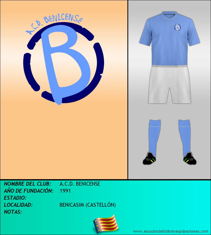 Escudo de A.C.D. BENICENSE