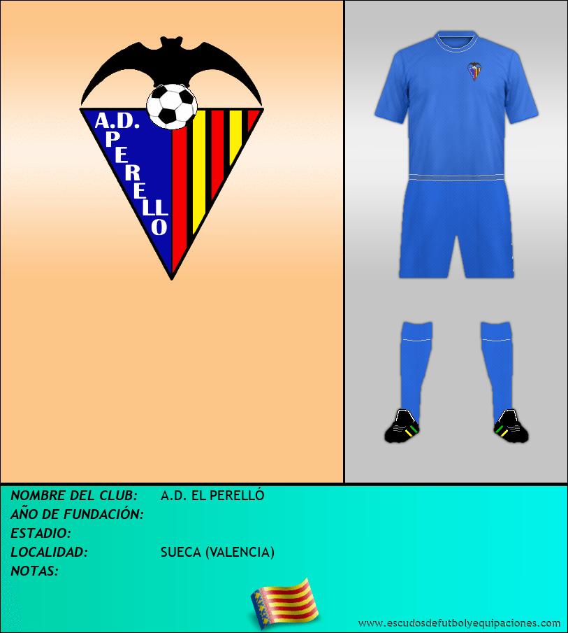 Escudo de A.D. EL PERELLÓ
