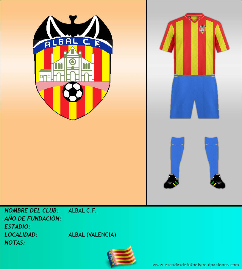 Escudo de ALBAL C.F.