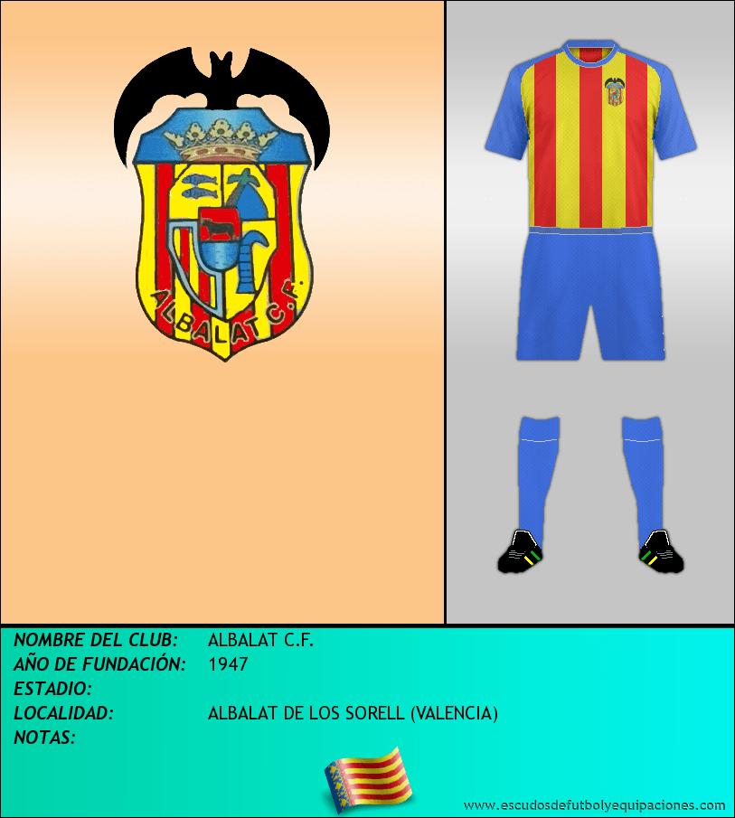Escudo de ALBALAT C.F.