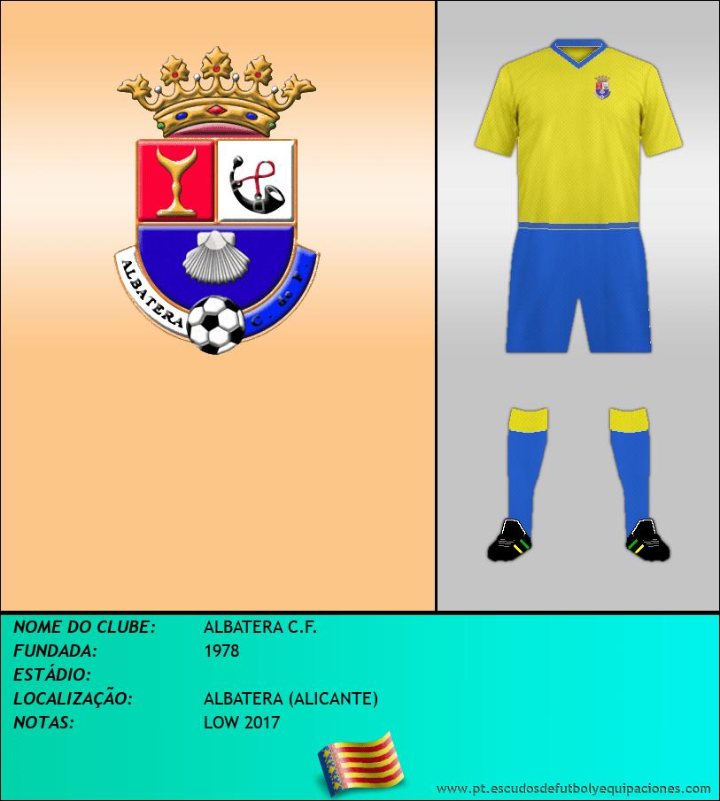 Escudo de ALBATERA C.F.