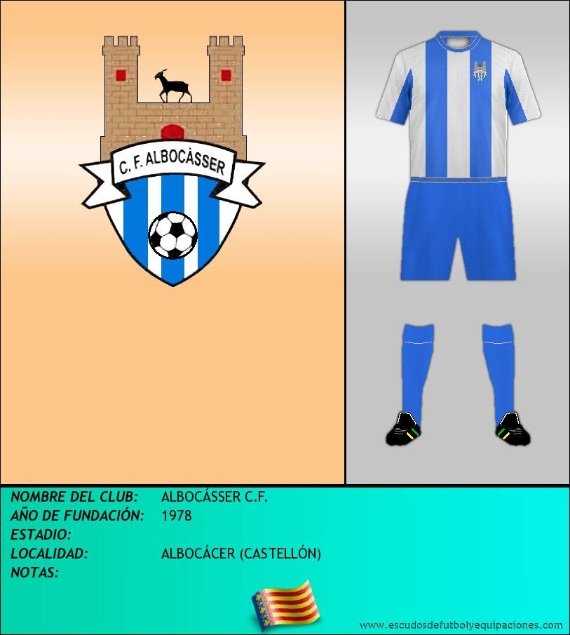 Escudo de ALBOCÁSSER C.F.