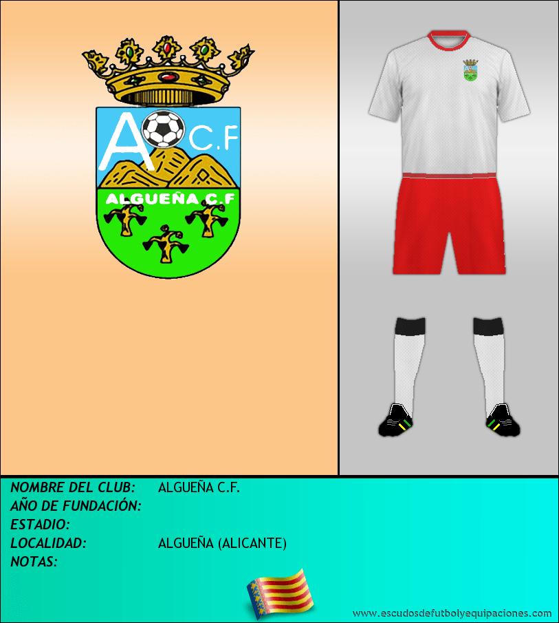 Escudo de ALGUEÑA C.F.