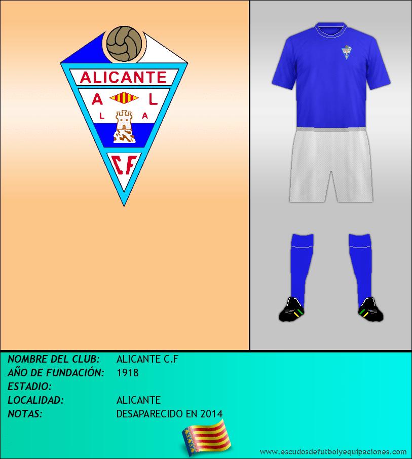 Escudo de ALICANTE C.F