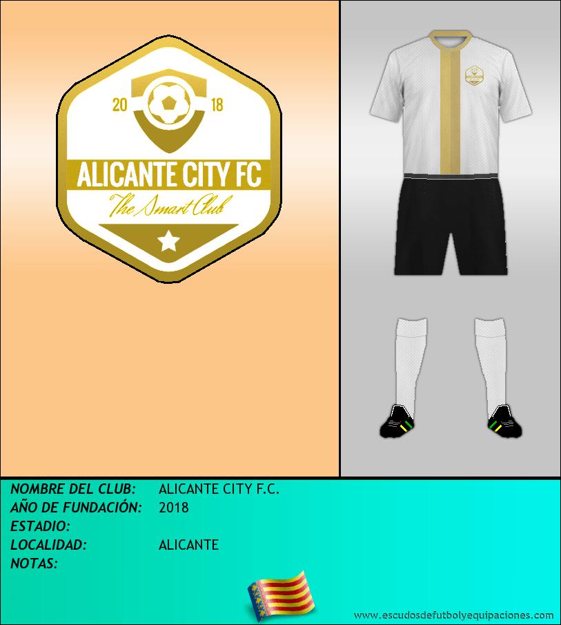 Escudo de ALICANTE CITY F.C.