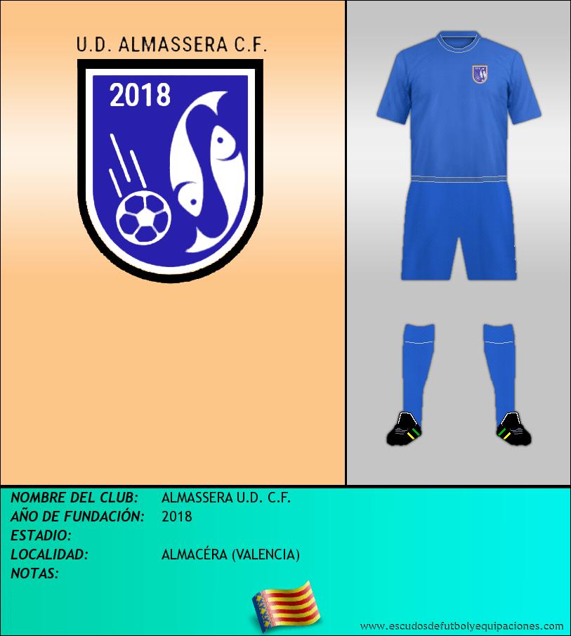 Escudo de ALMASSERA U.D. C.F.