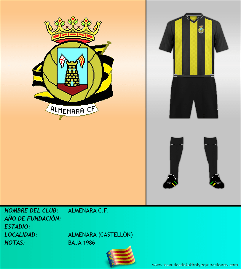 Escudo de ALMENARA C.F.