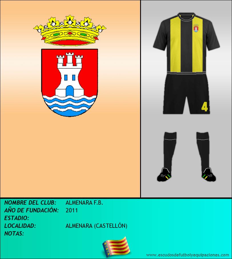 Escudo de ALMENARA F.B.