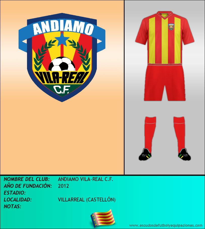 Escudo de ANDIAMO VILA-REAL C.F.