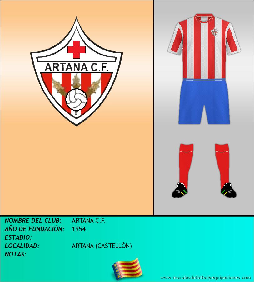 Escudo de ARTANA C.F.