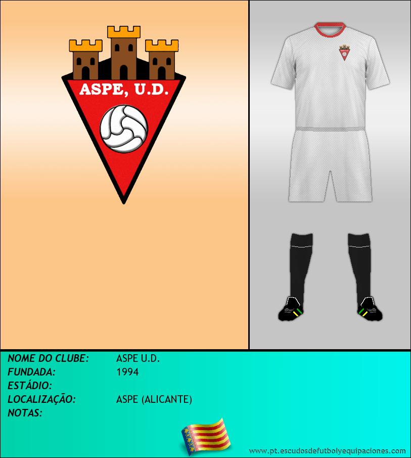 Escudo de ASPE U.D.