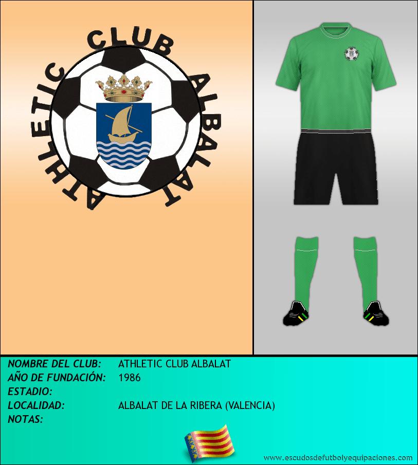 Escudo de ATHLETIC CLUB ALBALAT