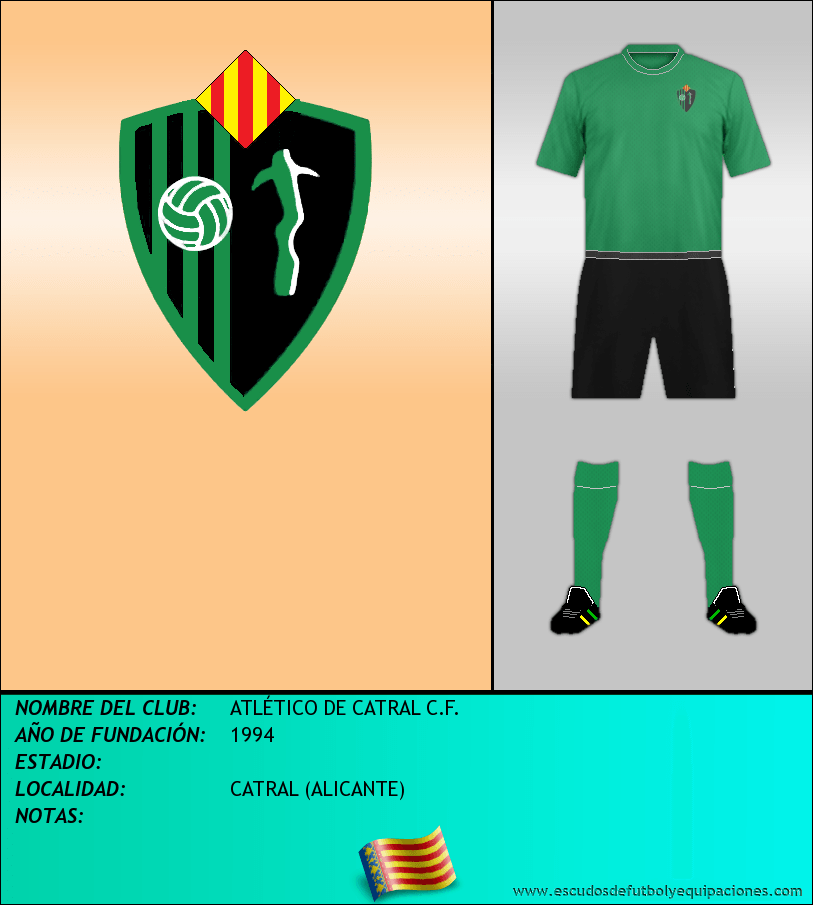 Escudo de ATLÉTICO DE CATRAL C.F.