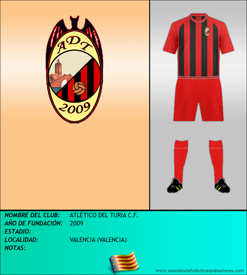 Escudo de ATLÉTICO DEL TURIA C.F.