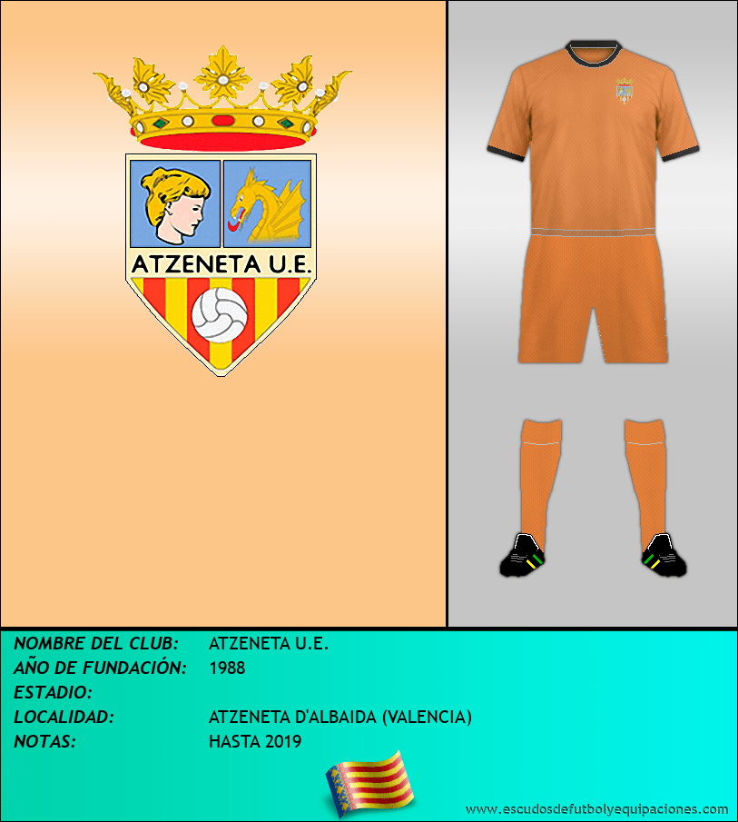 Escudo de ATZENETA U.E.