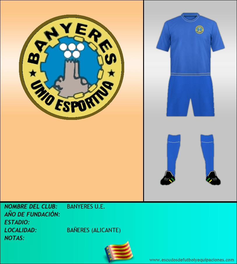Escudo de BANYERES U.E.