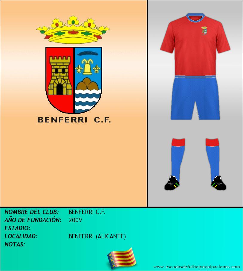 Escudo de BENFERRI C.F.