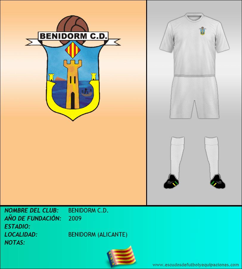 Escudo de BENIDORM C.D.