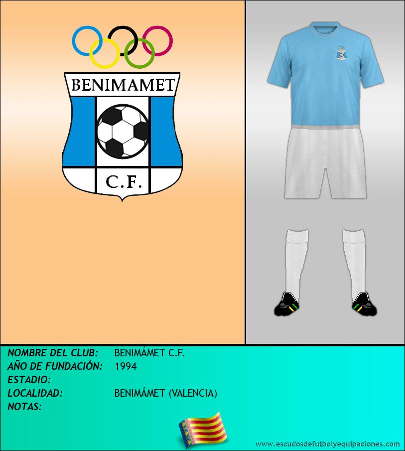 Escudo de BENIMÁMET C.F.