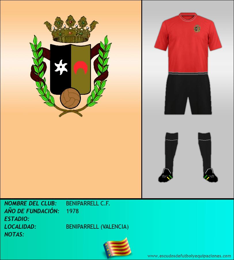 Escudo de BENIPARRELL C.F.