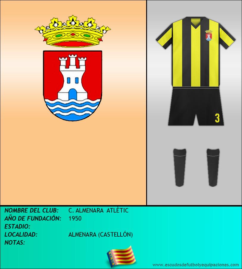 Escudo de C. ALMENARA  ATLÈTIC