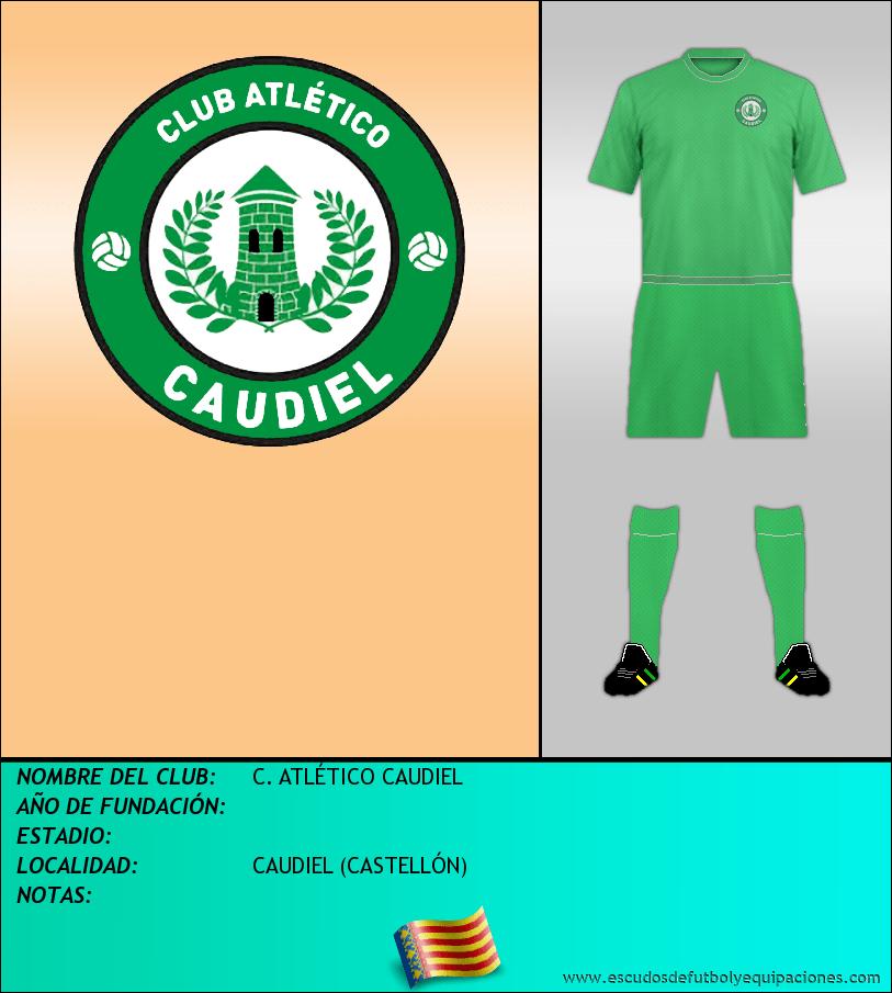 Escudo de C. ATLÉTICO CAUDIEL