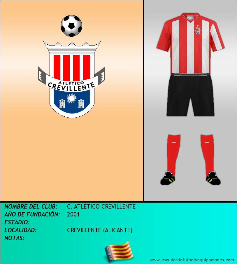 Escudo de C. ATLÉTICO CREVILLENTE