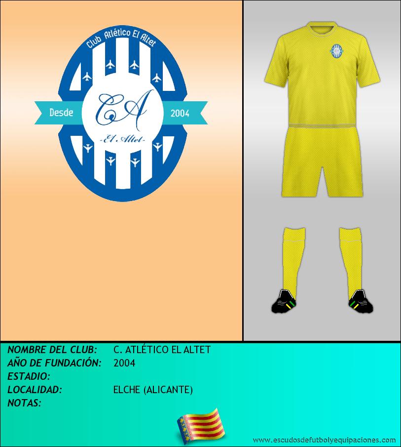 Escudo de C. ATLÉTICO EL ALTET