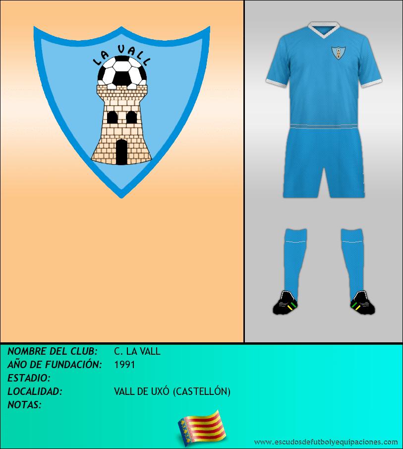 Escudo de C. LA VALL