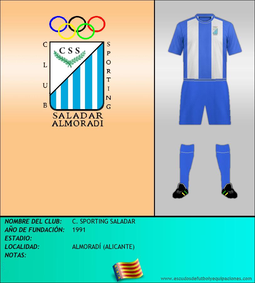 Escudo de C. SPORTING SALADAR