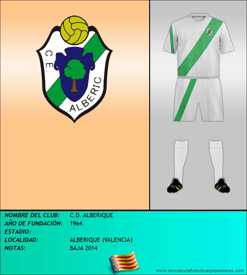 Escudo de C.D. ALBERIQUE