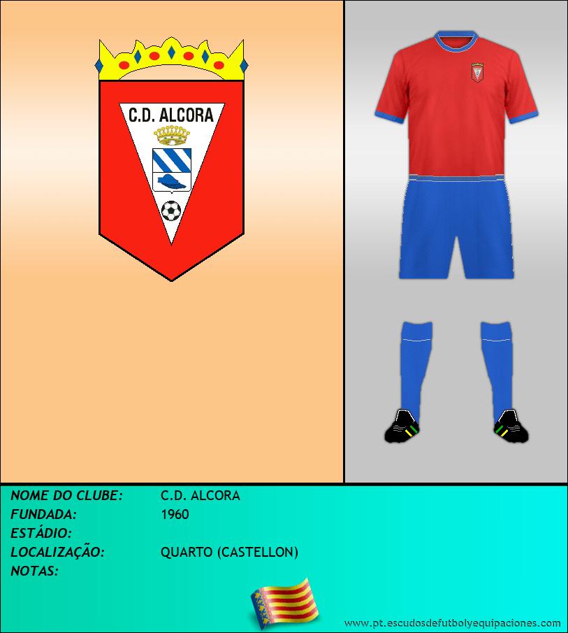 Escudo de C.D. ALCORA